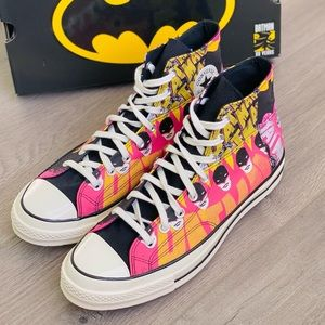 NWT Converse X Batman Chuck 70 High Top